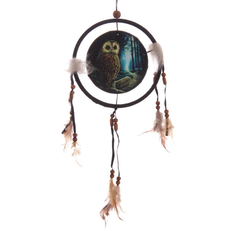 Decorative Fantasy Owl Dreamcatcher Small