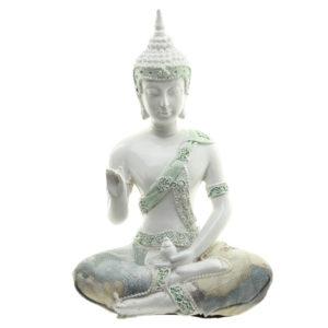 Decorative Floral Thai Buddha Enlightenment Figurine