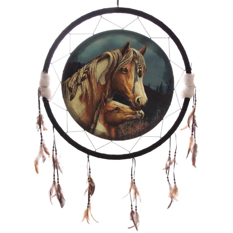 Decorative Horse Dreamcatcher Large