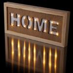 Decorative LED Wall Decoration - HOME