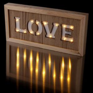 Decorative LED Wall Decoration - LOVE