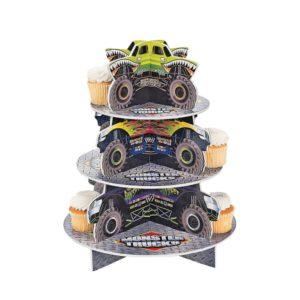 Foam Board Monster Trucks Cupcake HolderFoam Board Monster Trucks Cupcake Holder