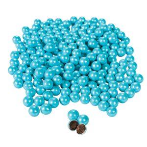 Shimmer Powder Blue Chocolate BallsShimmer Powder Blue Chocolate Balls