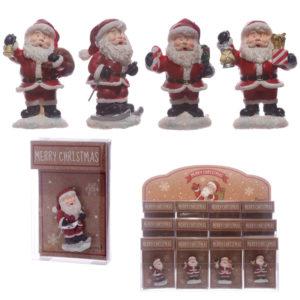 Festive Collectable Mini Santa Magnet