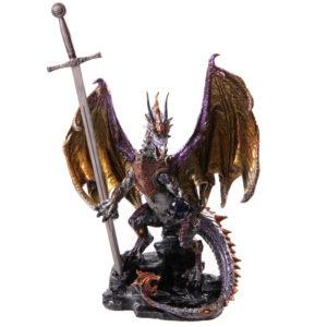 Fire Protector Dark Legends Dragon Figurine