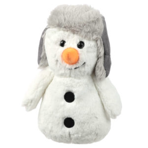 Fluffy Christmas Snowman Door Stop