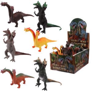 Fun Kids Dragon and Dinosaur Two Headed Toy