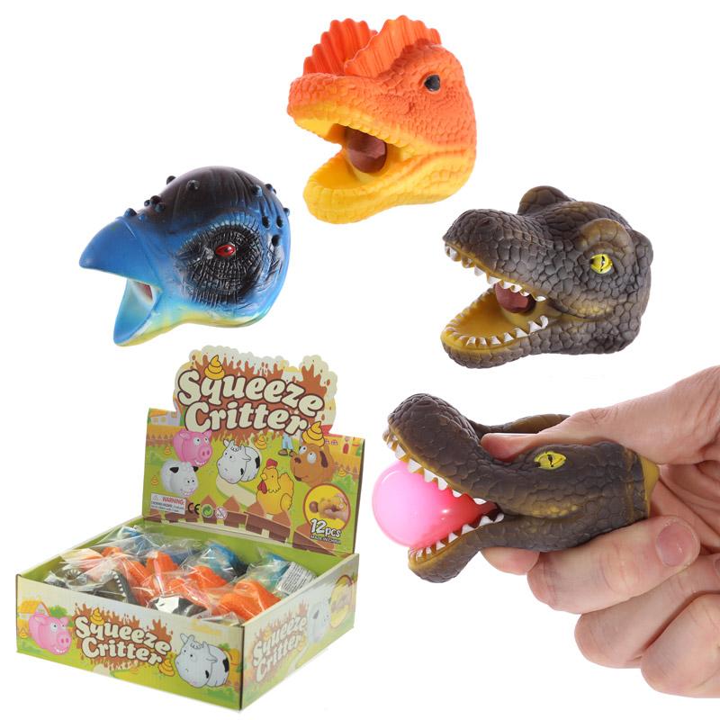 Fun Kids Tongue Pop Dinosaur Head