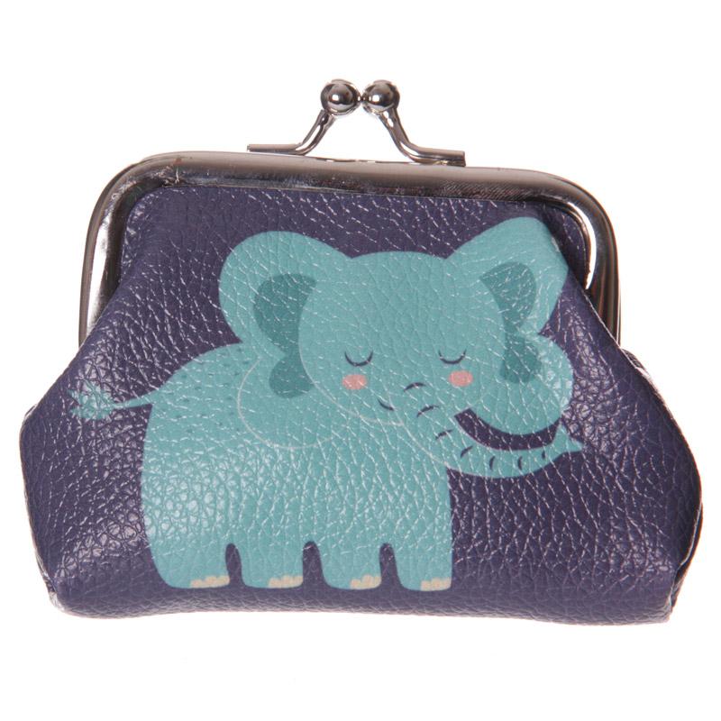 Fun Mini Coin Purse – Cute Zoo Elephant