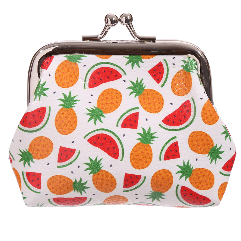 Fun Tic Tac Pineapples Design Purse