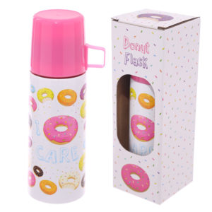 Funky 350ml Flask - Donut Design