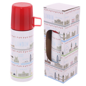 Funky 350ml Flask - London Icons Design