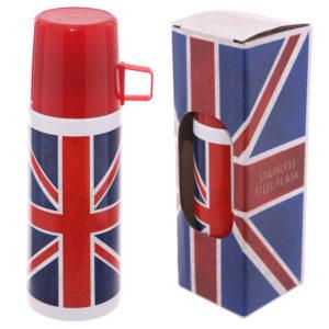 Funky 350ml Flask - Union Flag Design