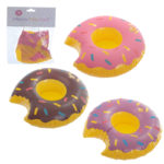 Funky Fast Food Inflatable Drinks Holder - Donut