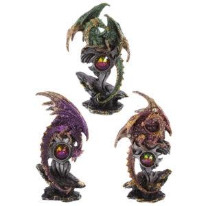 Geode Emblem Collectable Dragon Figurine