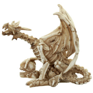 Gothic Collectable Skeleton Warrior Decoration