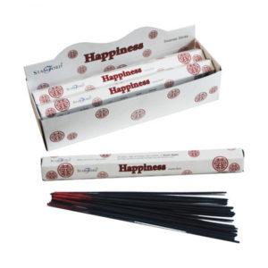 Happiness Stamford Hex Incense Sticks