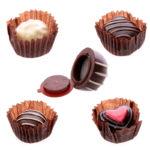 Lip Gloss in Fun Chocolate Holder
