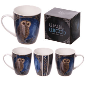 New Bone China Mug - Magical Pendle Owl Design