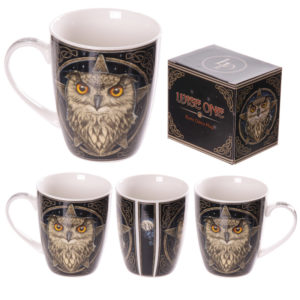 New Bone China Wise Owl Design Mug