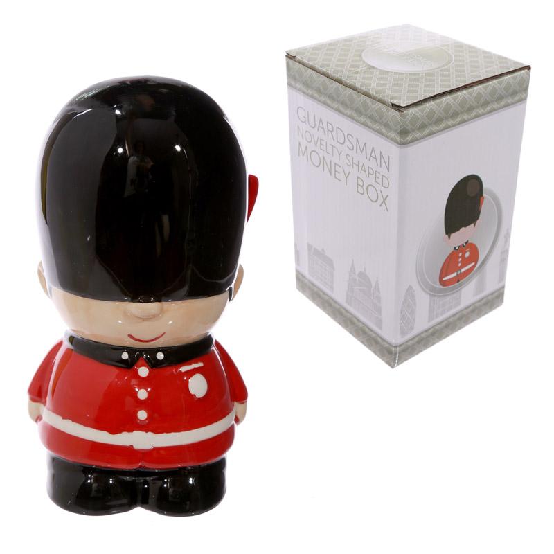Novelty Ceramic Guardsman Money Box