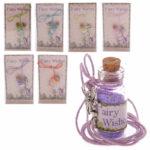 Novelty Fairy Glitter Pendant