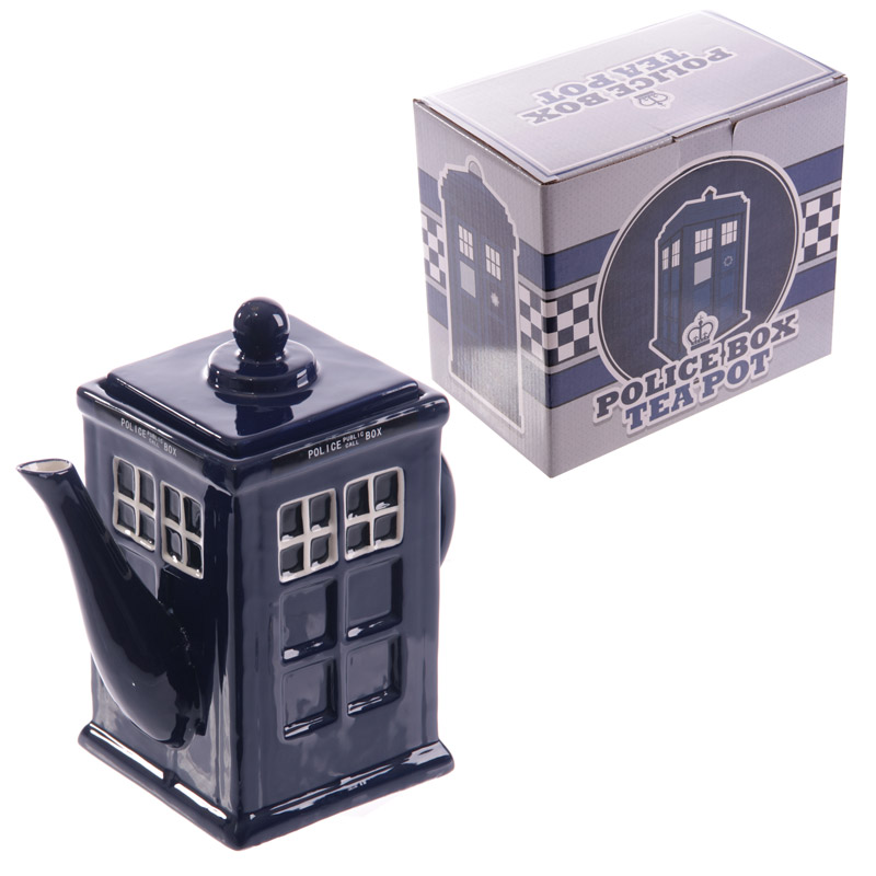 Novelty Police Box Shaped Teapot