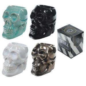 Novelty Skull Ceramic Oil Burner
