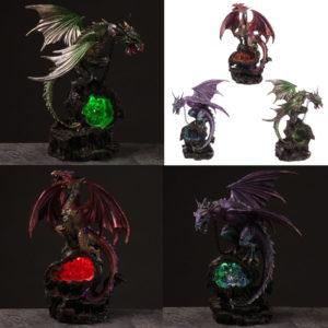 Prisoner Dark Legends Dragon LED Figurine