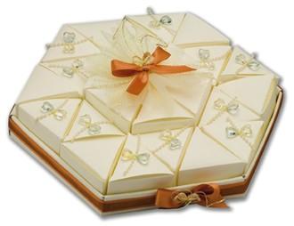 Ivory Silk Large Hexagonal TrayIvory Silk Large Hexagonal Tray