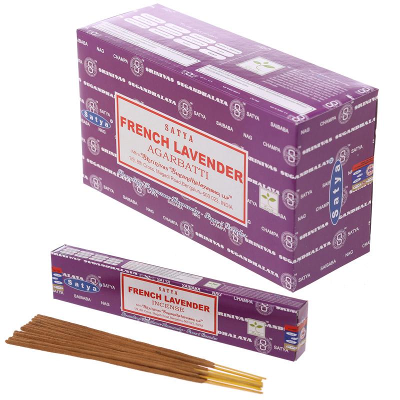 Satya Nag Champa Incense Sticks - French Lavender