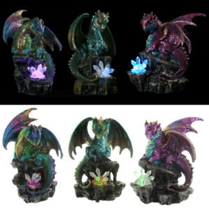 Soothsayer Fantasy Nightmare Dragon Figurine