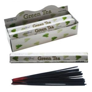 Stamford Hex Incense Sticks - Green Tea