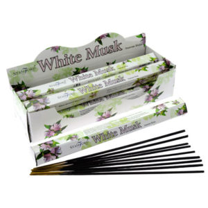 Stamford Hex Incense Sticks - White Musk