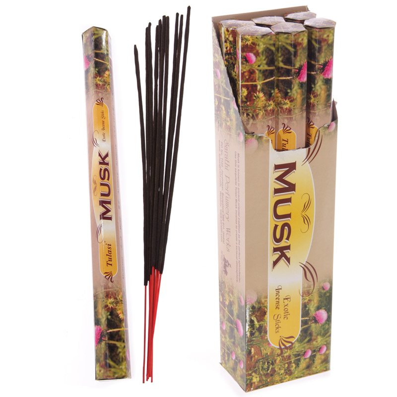 Tulasi Giant Garden Incense Sticks - Musk