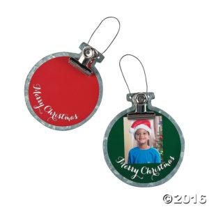 12 x Photo Ornament With Clip12 x Photo Ornament With Clip