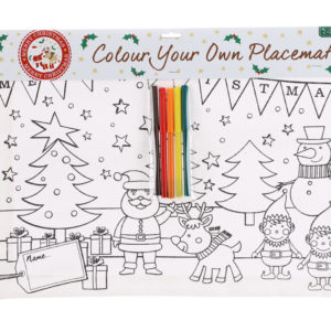 Colour Your Own Christmas PlacematColour Your Own Christmas Placemat