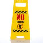 No Farting Desk Warning SignNo Farting Desk Warning Sign