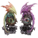 Decorative Fantasy Dragon Eye Figurine