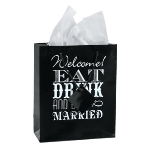 12 x Eat, Drink And Be Married Welcome Bags12 x Eat, Drink And Be Married Welcome Bags