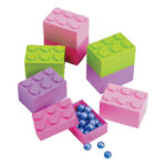 Pack of 24 Pastel Brick ContainersPack of 24 Pastel Brick Containers