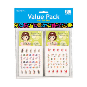 Pack of 12 Nail DecalsPack of 12 Nail Decals