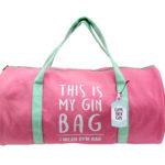 Gym and Tonic Gin Bag Duffel BagGym and Tonic Gin Bag Duffel Bag