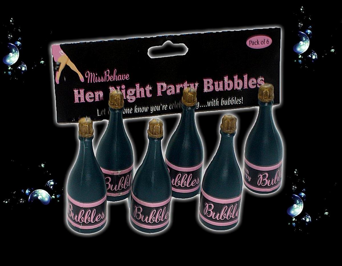 6 Hen Party Bubbles