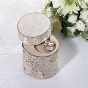 White Washed Pine Ring HolderWhite Washed Pine Ring Holder