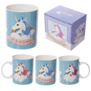 I don't believe in humans Unicorn New Bone China MugI don't believe in humans Unicorn New Bone China Mug