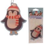 Penguin Shaped Cinnamon Scented Christmas Air Freshener