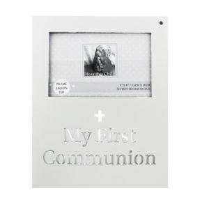 Juliana 'Bless This Child' MDF Light Up Frame Communion 6x4Juliana 'Bless This Child' MDF Light Up Frame Communion 6x4