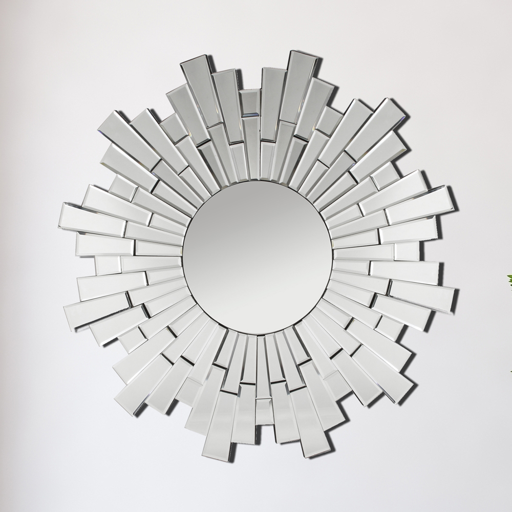 Hestia Sundial Wall Mirror 80cm