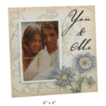 You and Me Stone effect etchings Photo Frame 4 x 6You and Me Stone effect etchings Photo Frame 4 x 6